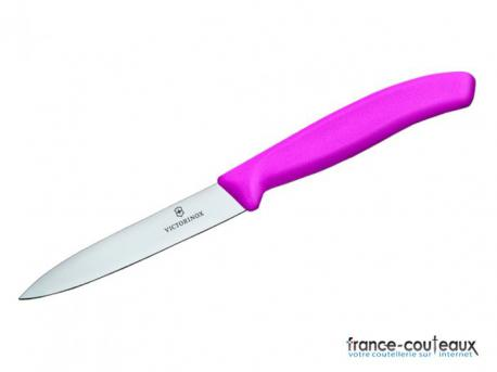 Couteau d'office Victorinox Swiss CLassic- rose