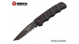 Coffret AK 47 : couteau automatique + étui KALASHNIKOV AK47 - noire- manche combat [01AKS74BT]
