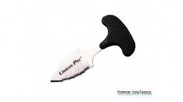 Coffret 6 couteaux steak Laguiole  Claude Dozorme-manches panachés couleurs gris-marrons