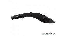 Coffret 6 couteaux de table Laguiole G. DAVID- Manches façon corne noire