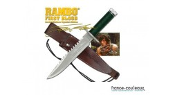 Poignard Rambo First Blood - Sylverster Stallone Signature Edition
