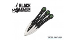 Couteau a lancer black legion velocity throwing