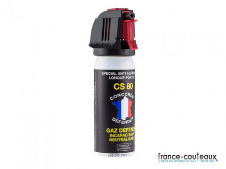 50 ml - Spray anti agression CS 80 gaz défense