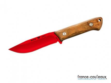 Couteau Buck Compadre Camp Knife - lame rouge