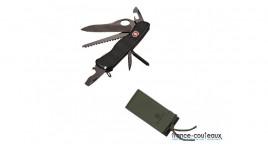 Coffret AVENTURA - Lampe de poche a 14 LEDS livrée avec étui et piles