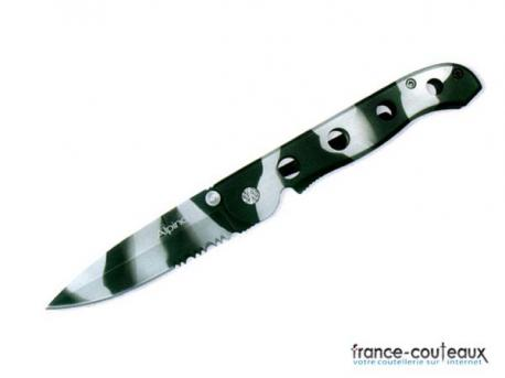 Couteau Black Camo a lame MIXTE
