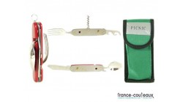 Couteau SUISSE PICNIC DUO - 618412 - HERBERTZ