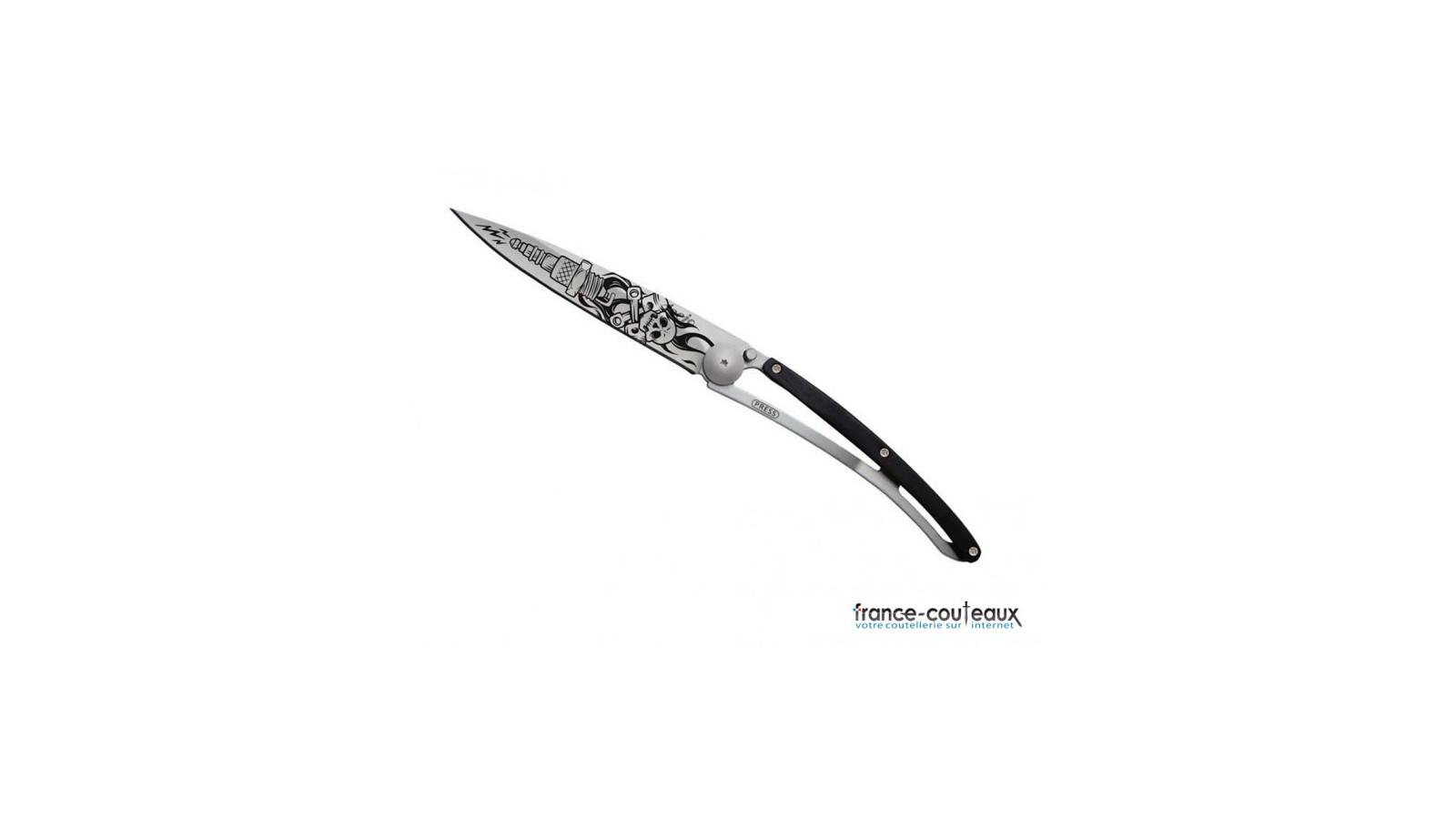 Couteau de poche menottes police USA