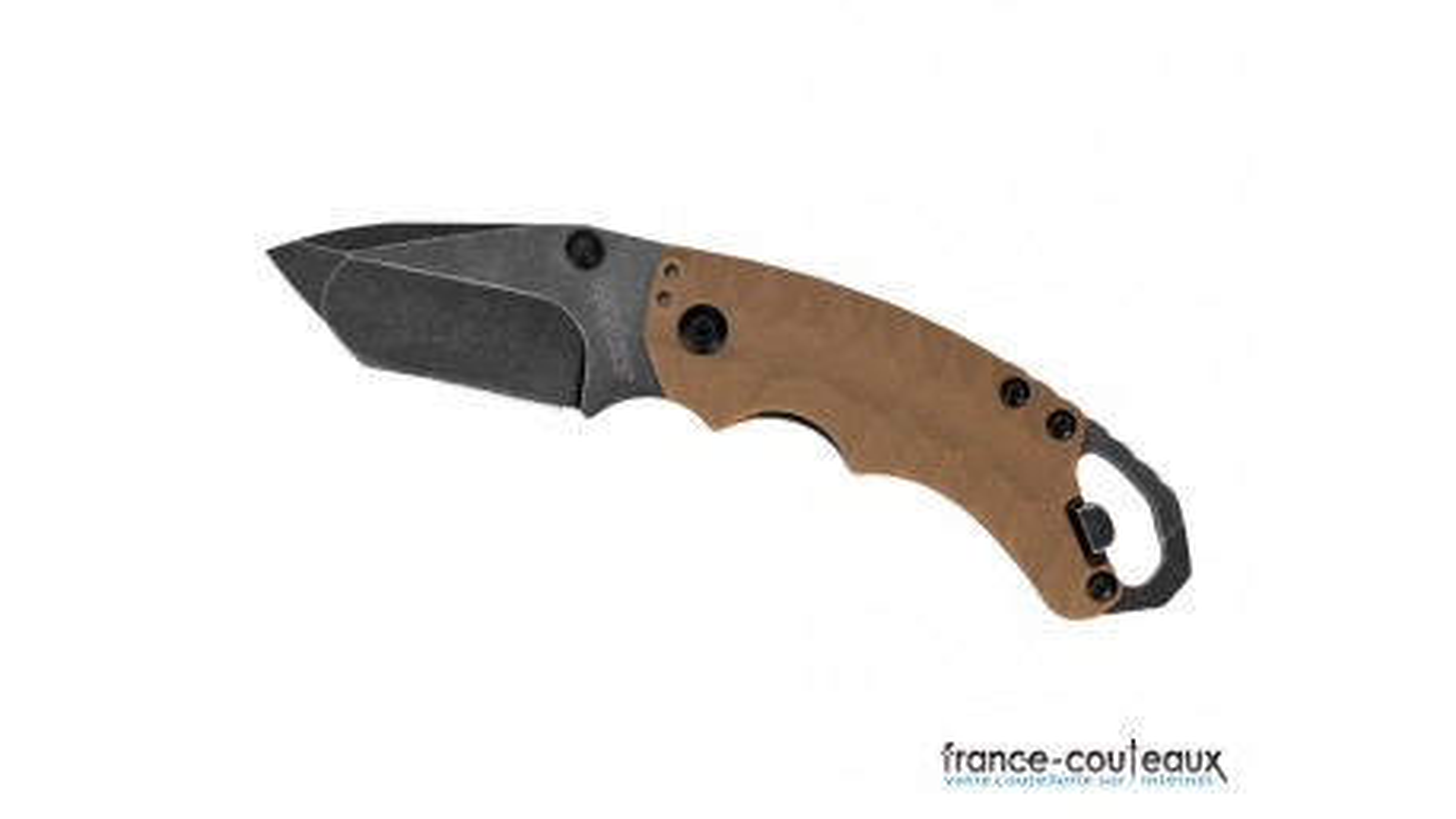Petit couteau pliant Kershaw Shuffle II tan