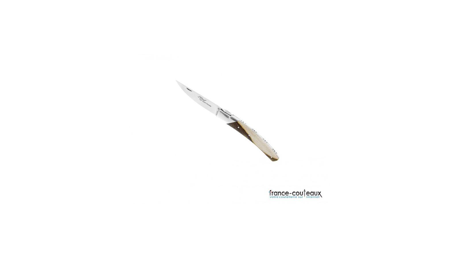 Couteau pliant Cimes avec tire-bouchon style Laguiole