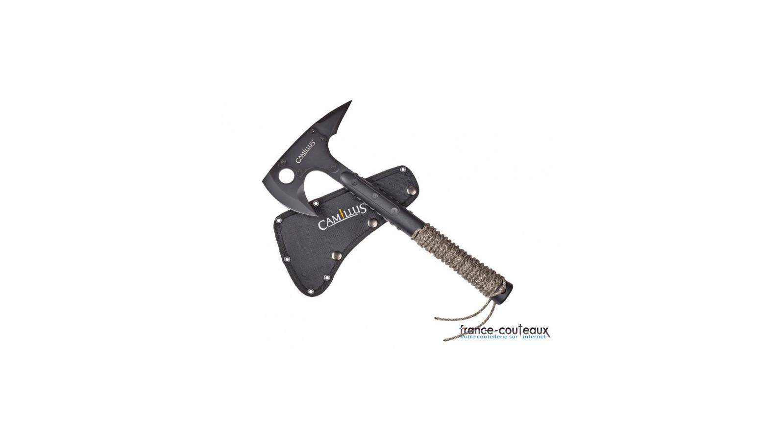 Dague de chasse à servir avec gravure sanglier - 28cm