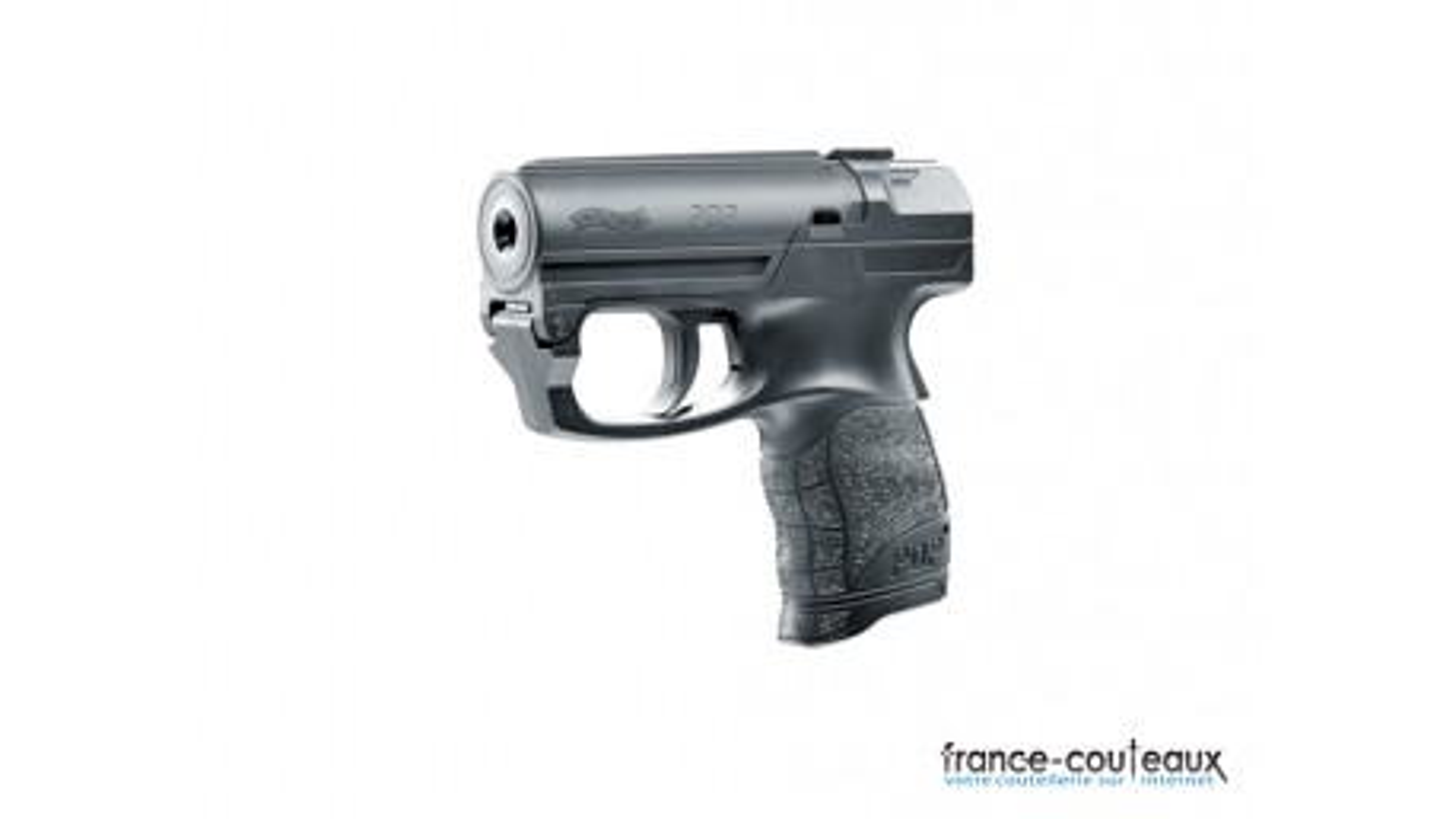 Pistolet de défense personnel Walther PDP Pro secur noir au gel poivre OC