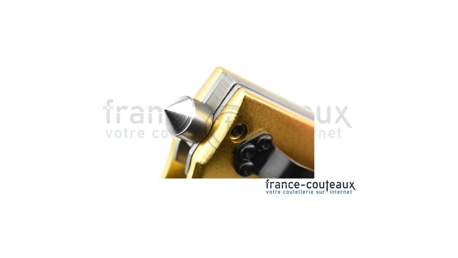 Couteau fermant Benchmade Griptilian Black lame tanto acier 154CM
