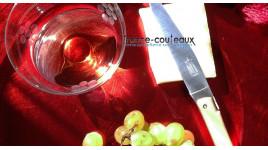 Canne épée Franc Maçon pommeau rond argenté
