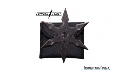 1 étoile de jet 6 branches Perfect point Throwing Star