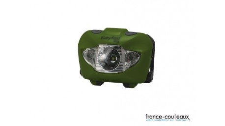 Lampe frontale LED Rayfall HP3A vert olive de 160 lumens