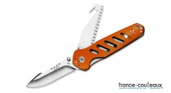 Couteau Buck Alpha Crosslock orange