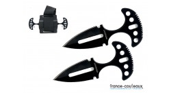 Double push dagger United Cutlery avec étui rigide