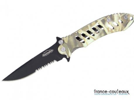 Couteau Remington F.A.S.T Camo Folder Knife