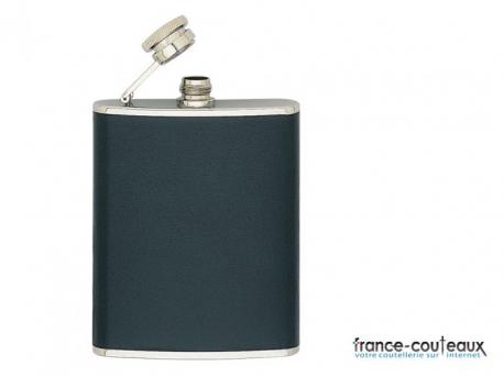 Flasque 180ml INOX Gainee cuir