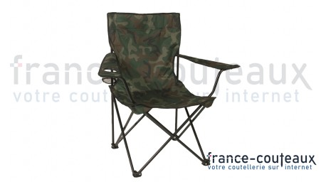 Siège relax pliable de chasse camouflage Woodland