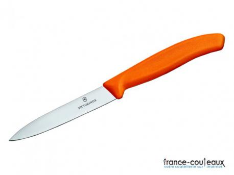 Couteau office Victorinox lame 8 cm - orange