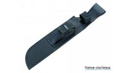 Couteau poignard de chasse basique manche en bois long