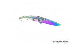 Shurikens - étoiles de lancer 5 branches avec pochette