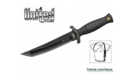 Poignard Combat Commander Tanto avec étuis United Cutlery