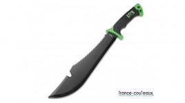 Couteau de poche SR2 Mini Black en alu