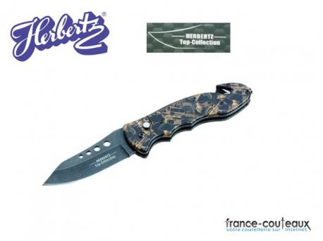 Couteau Herbertz automatique top collection Military guns
